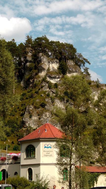 Felsenbad Pottenstein - das Naturbad in der Fränkischen Schweiz
