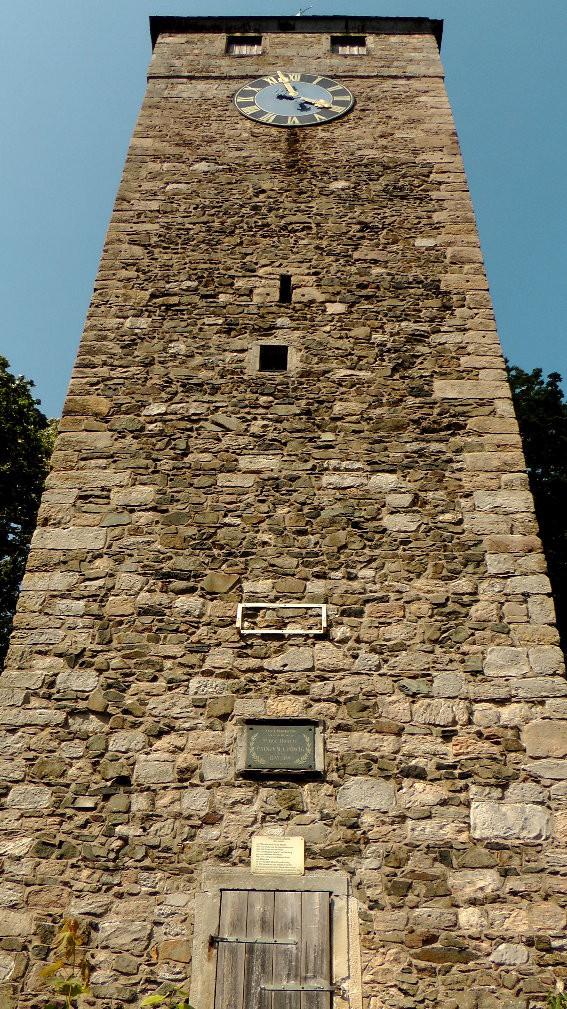 Burgruine Altes Schloss der Schlossturm