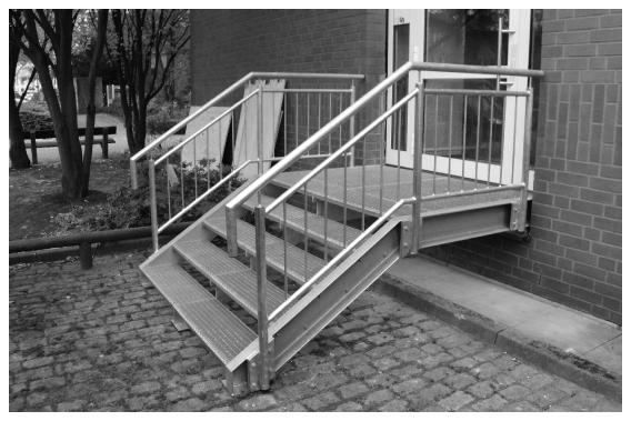 Zu unseren Treppen...