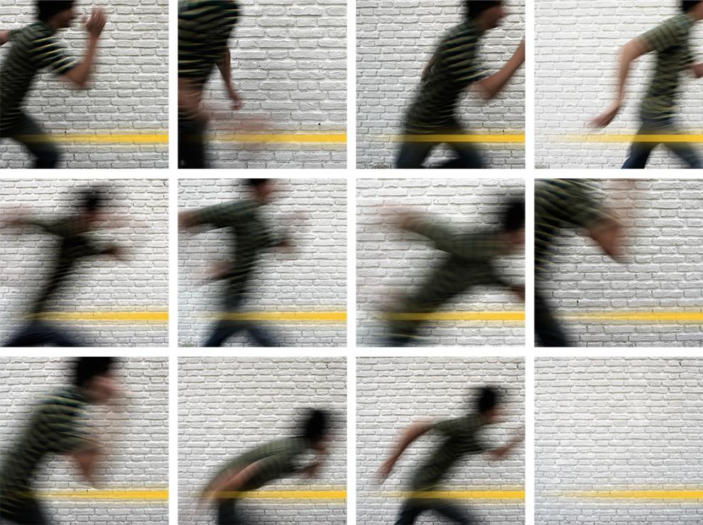 """Serie El proceso. """"Algunos cabos sueltos"""". 203 x 152 cm. Fotografía. 2008"""