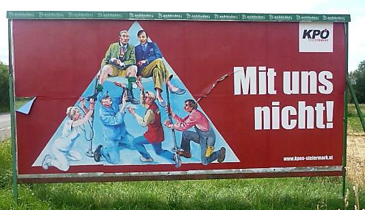 KPÖ Plakat Design, 2012