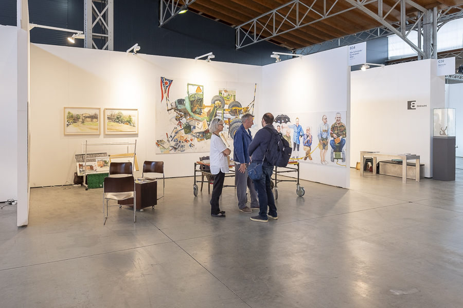 Josef Schützenhöfer  viennacontemporary 2019 int. Art Fair
