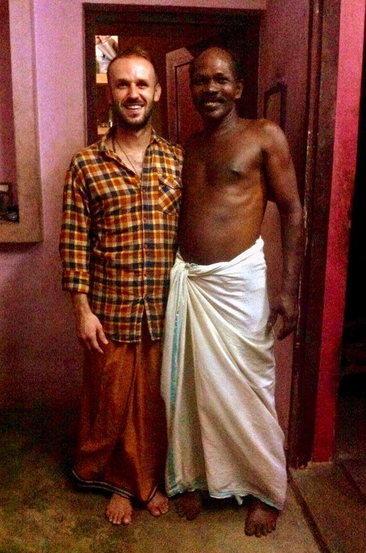Mon ami et enseignant Rasalam...