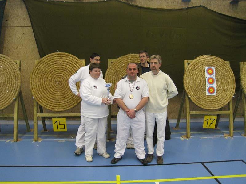 Championnat départemental salle 2008