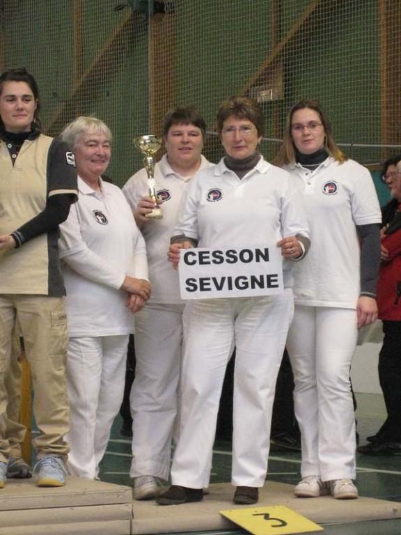Championnat de Bretagne par équipe adultes 2008