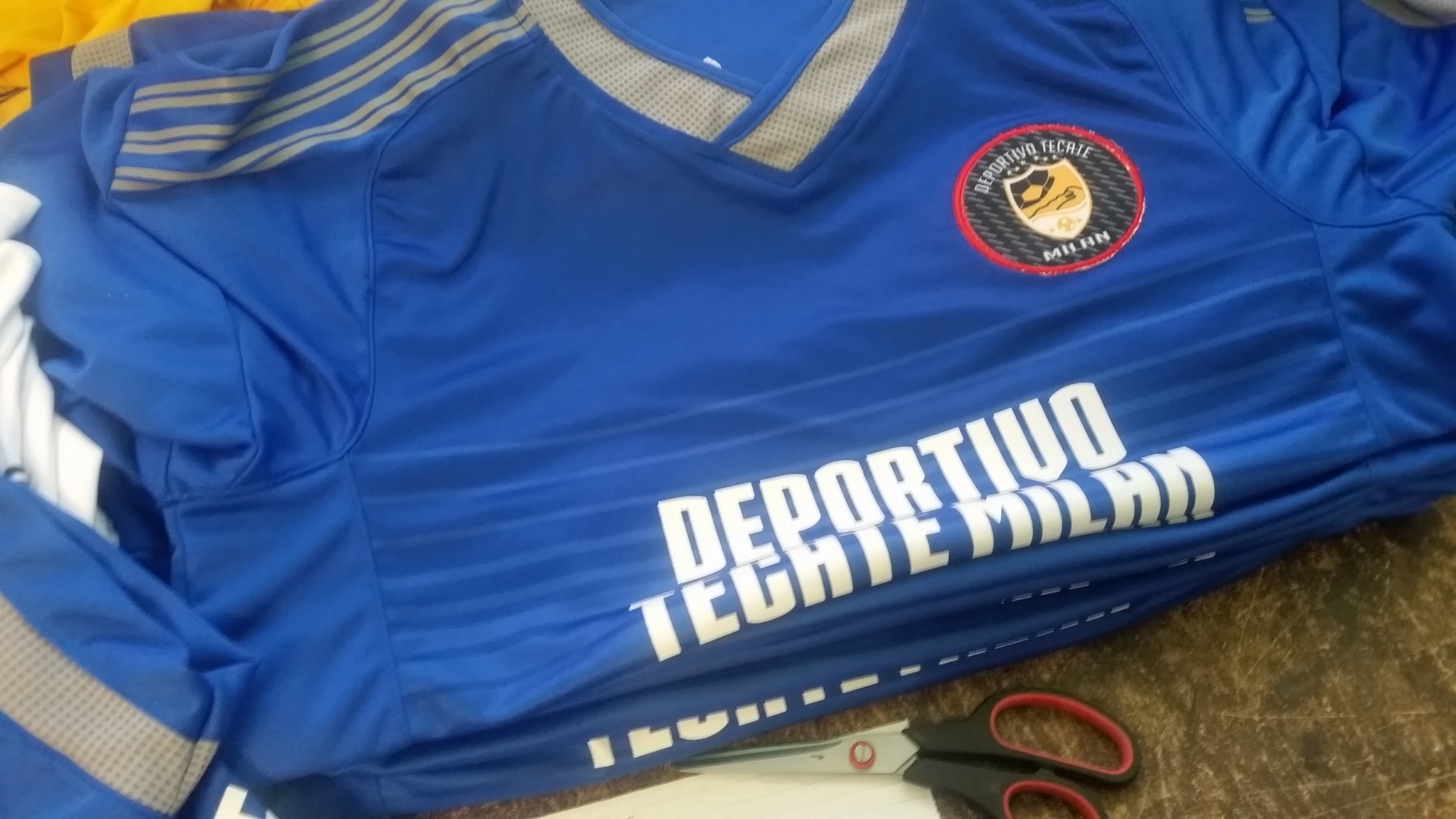 39a904e6c417c MEDIDAS DE LAS PLAYERAS DE FÚTBOL SOCCER - Comercial Deportiva ...