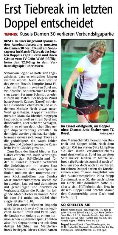 Quelle: Verlag: DIE RHEINPFALZ Publikation: Westricher Rundschau Ausgabe: Nr.113 Datum: Dienstag, den 15. Mai 2012 Seite: Nr.16