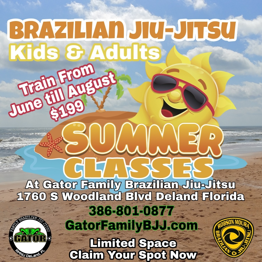 Summer Jiu-Jitsu Classes