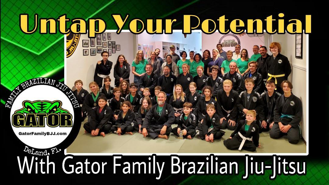 Photo of Gator Family Brazilian Jiu-Jitsu Martial Arts Deland kids teens and adults.