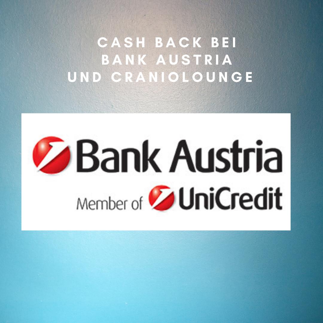 Cash Back für KundInnen der Bank Austria