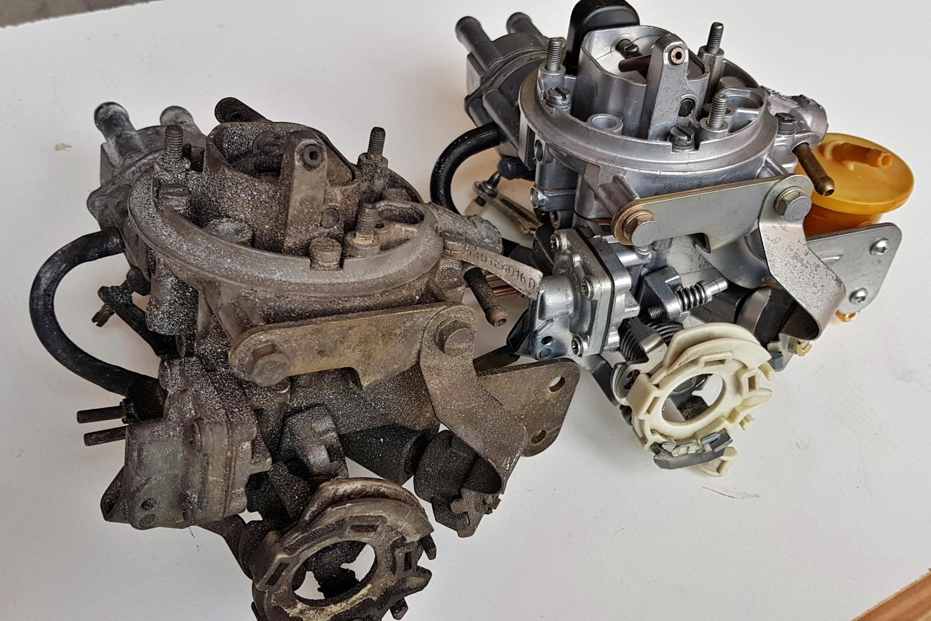 microbillage carburateur Weber