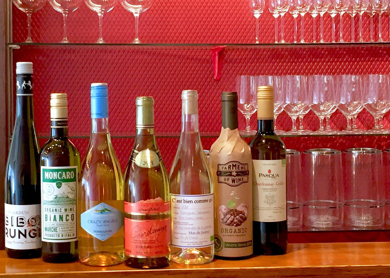自然派白ワイン