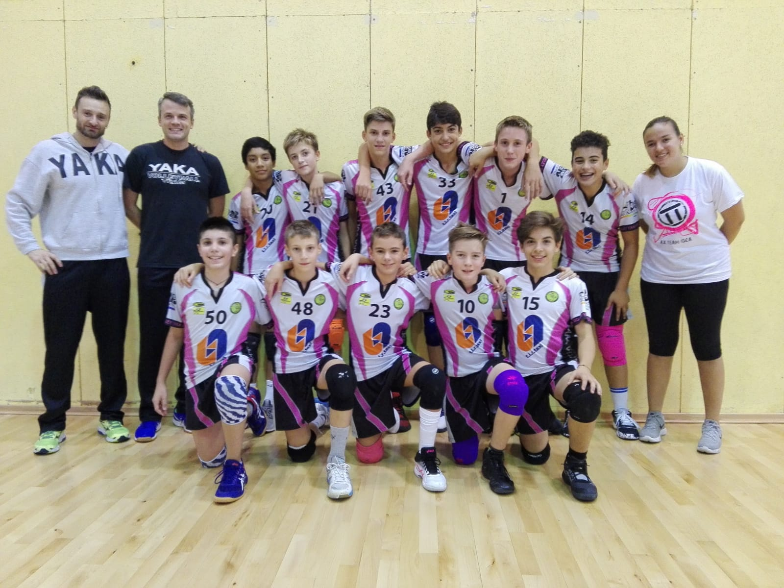 YAKA VOLLEY U14