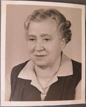 meine Oma - Anna Hepp (geb. Christ)