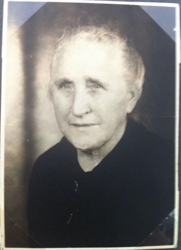 meine Urgroßmutter - Berta Christ (geb. Leibach)