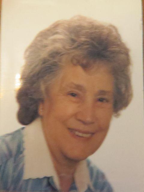 meine Mutter - Elfriede Pflüger (geb. Christ)