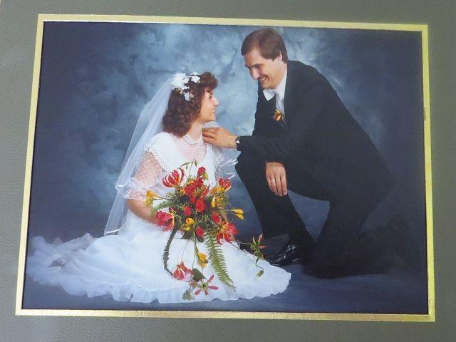 Hochzeit am 11.09.1981 mit Sylvia (geb. Biermann)