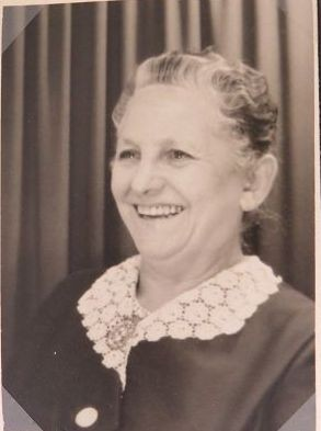 meine Oma - Eva Pflüger (geb. Adam)