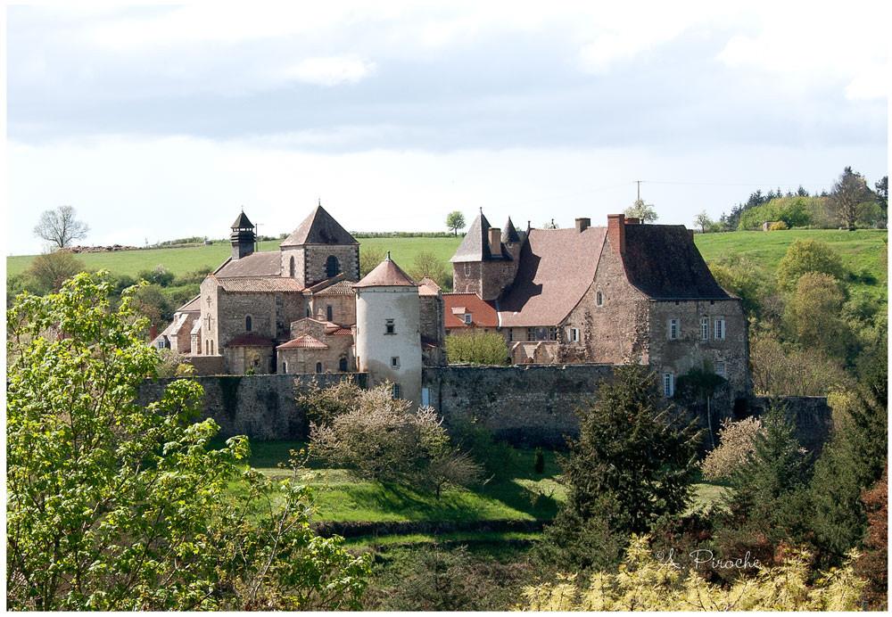 Abbaye de Chantelle - Toile 35x22