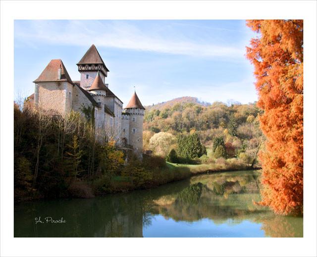 Château de Cléron -Toile 61x46