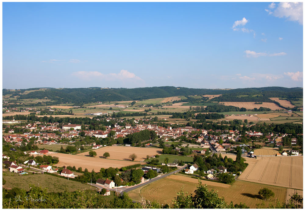Ebreuil - Toile 73x50