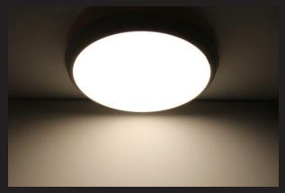 Plafoniere Tonde A Led : Plafoniere led 3 colori nauled srl illuminazione ascensori