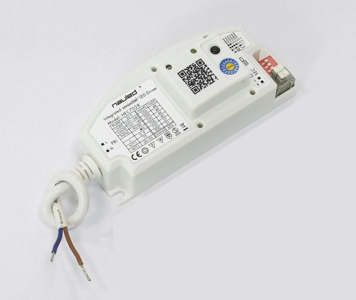 ALIMENTATORE LED CON SENSORE PRESENZA INTEGRATO (VERSIONE TRI-DIMMING LED)
