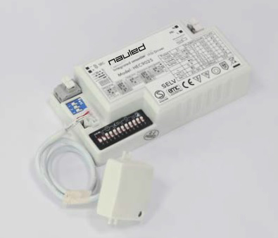 LED DRIVER WITH EXTERNAL PRESENCE SENSOR (TRI-DIMMING LED VERSION)