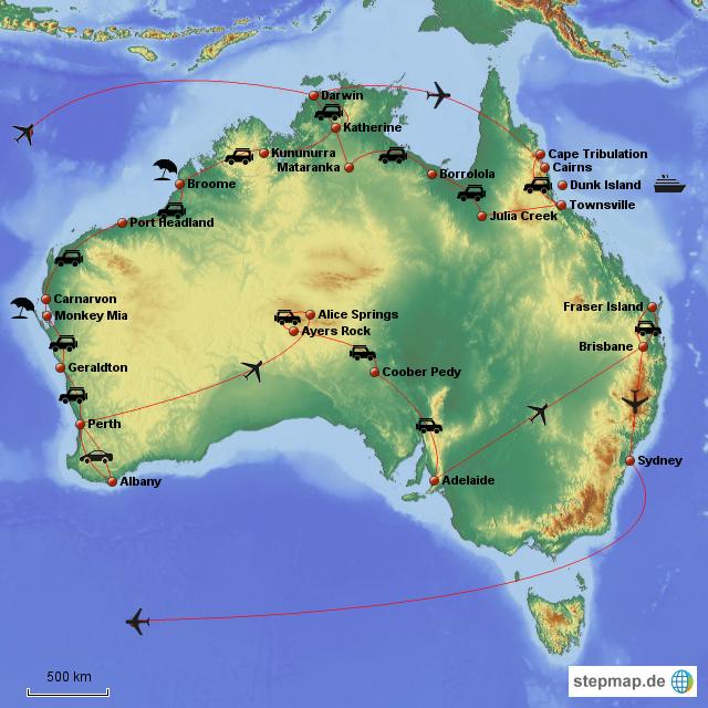 Australienreise 1997