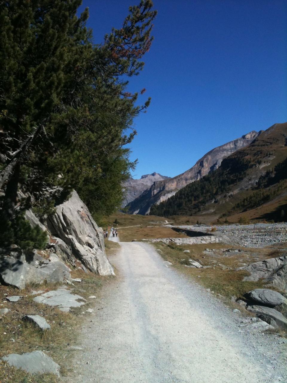 Wanderweg Schwarenbach - Sunnbuel