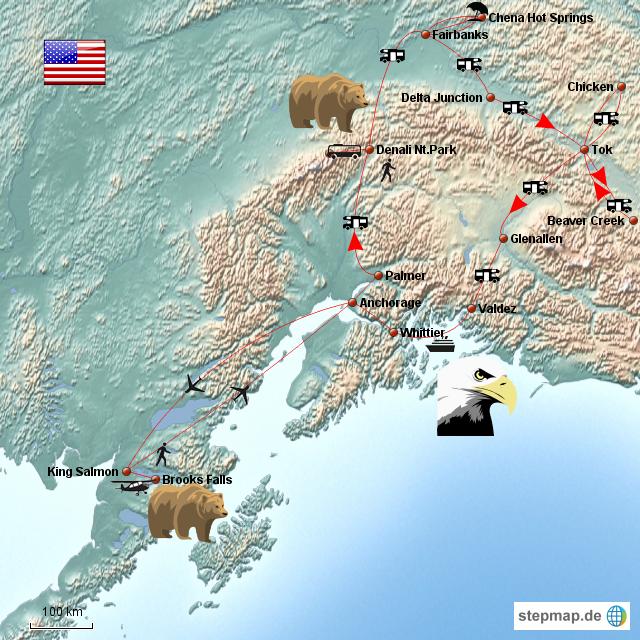 Alaska Reise 2012
