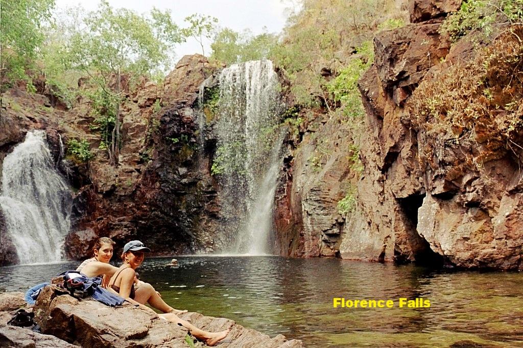 Florence Falls im Litchfield Nt.Park