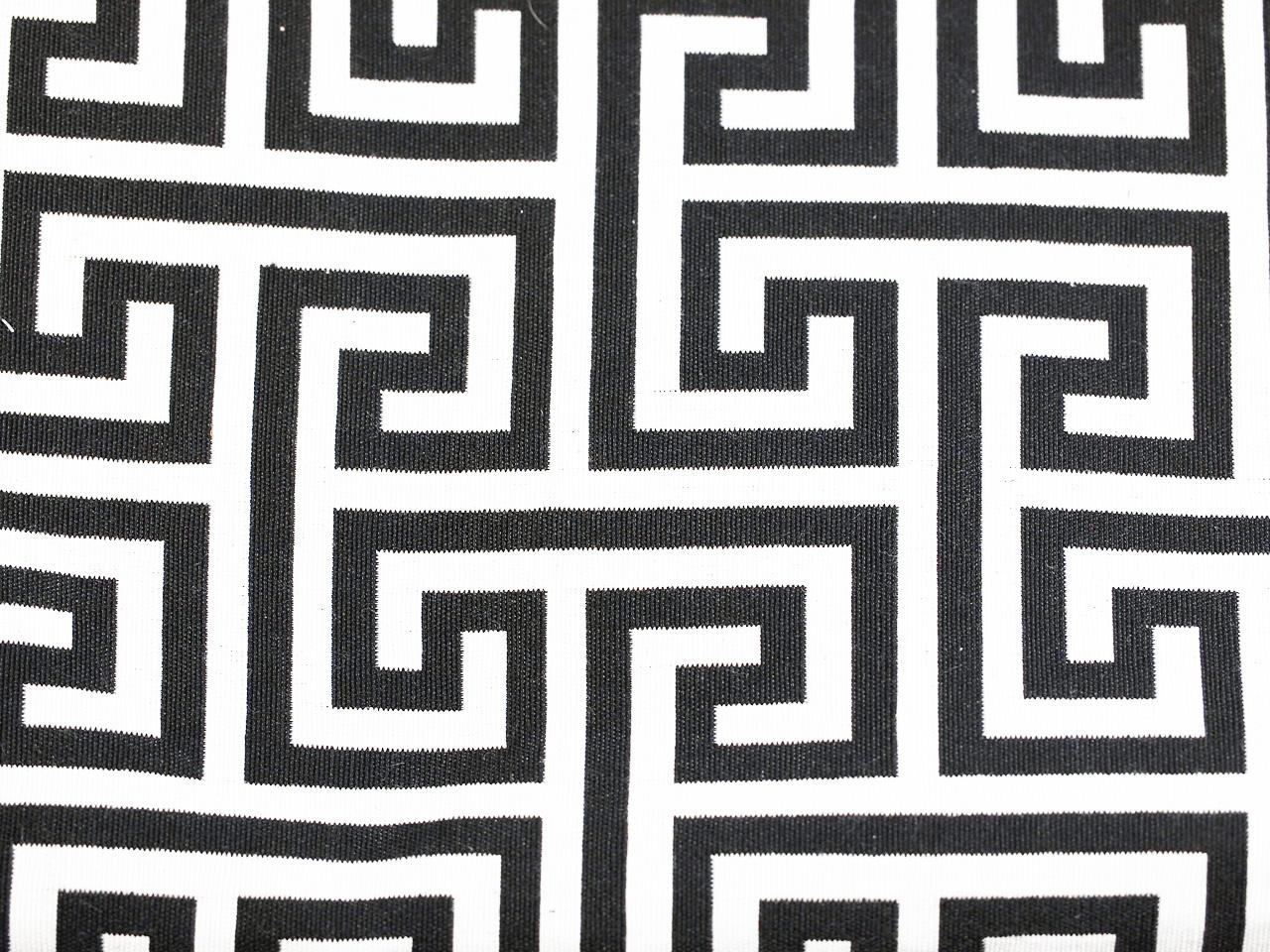 Labyrinth, schwarz auf weiß, Stoff Rückseite, Leckerlibeutel, Perlen vor die Hunde