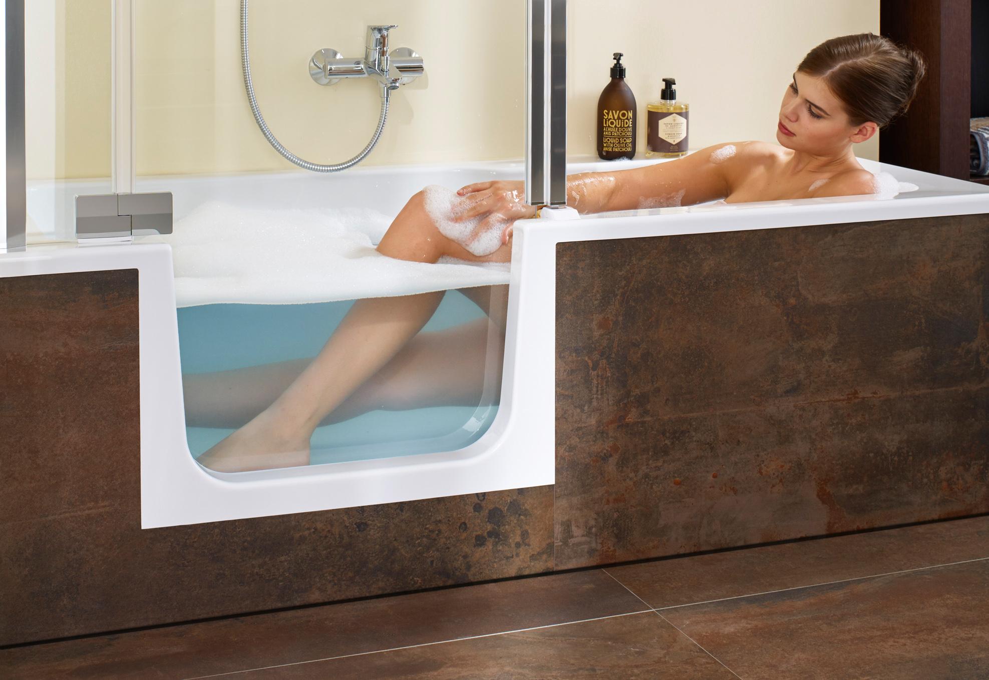 shower, bathtub and easy access - duett
