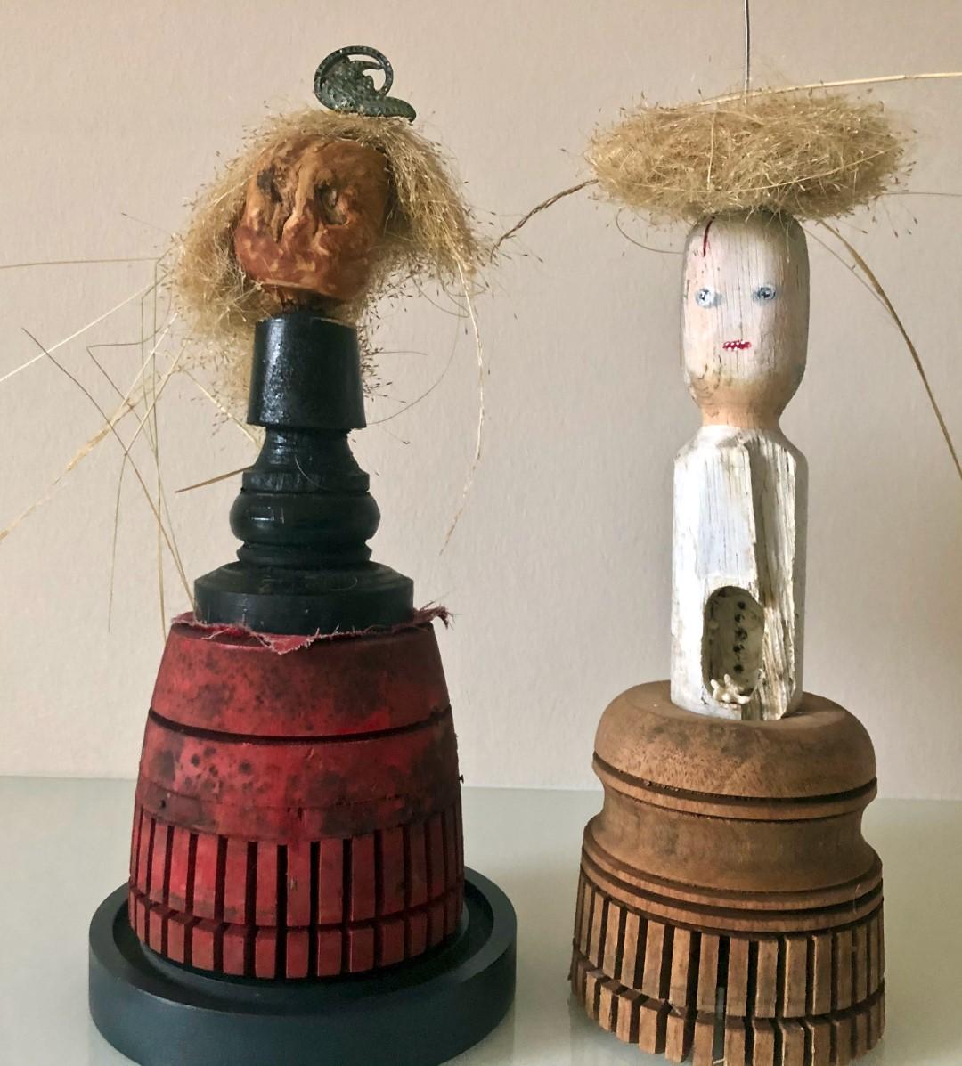 """dolls 2"", verschiedene Materialien"