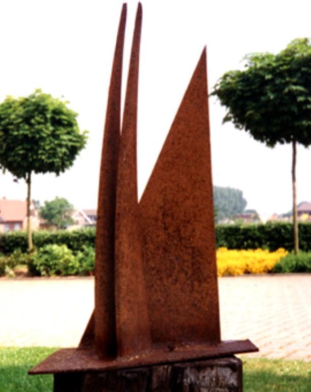 Skulptur (Eisen/Rost)