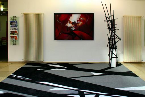 Land von Kohle und Stahl / dreiteilige Installation / Marianne Bellenhaus