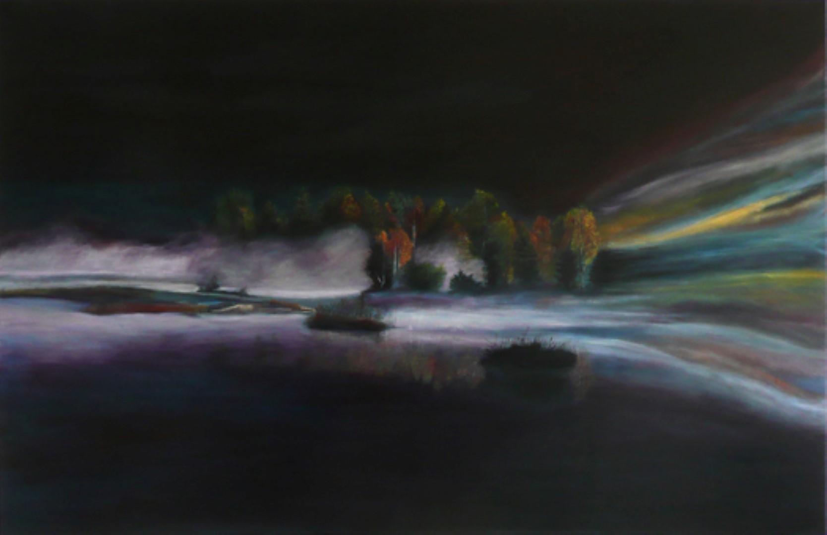 Umweltzerstörung, Acryl,  123x190