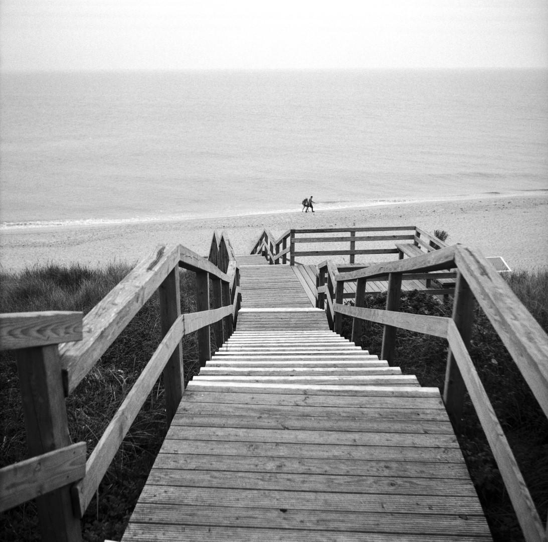 Spaziergang am Strand (Sylt)