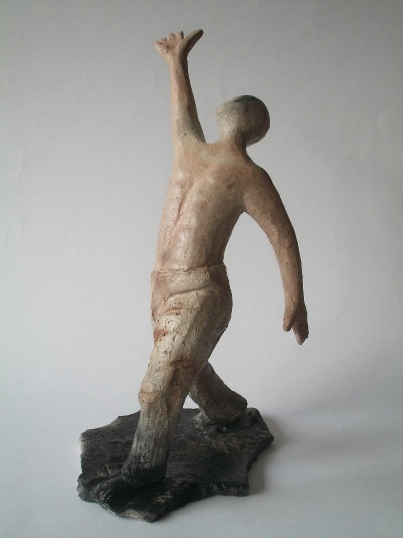 Tanz 1, Kapselbrand, 38cm hoch