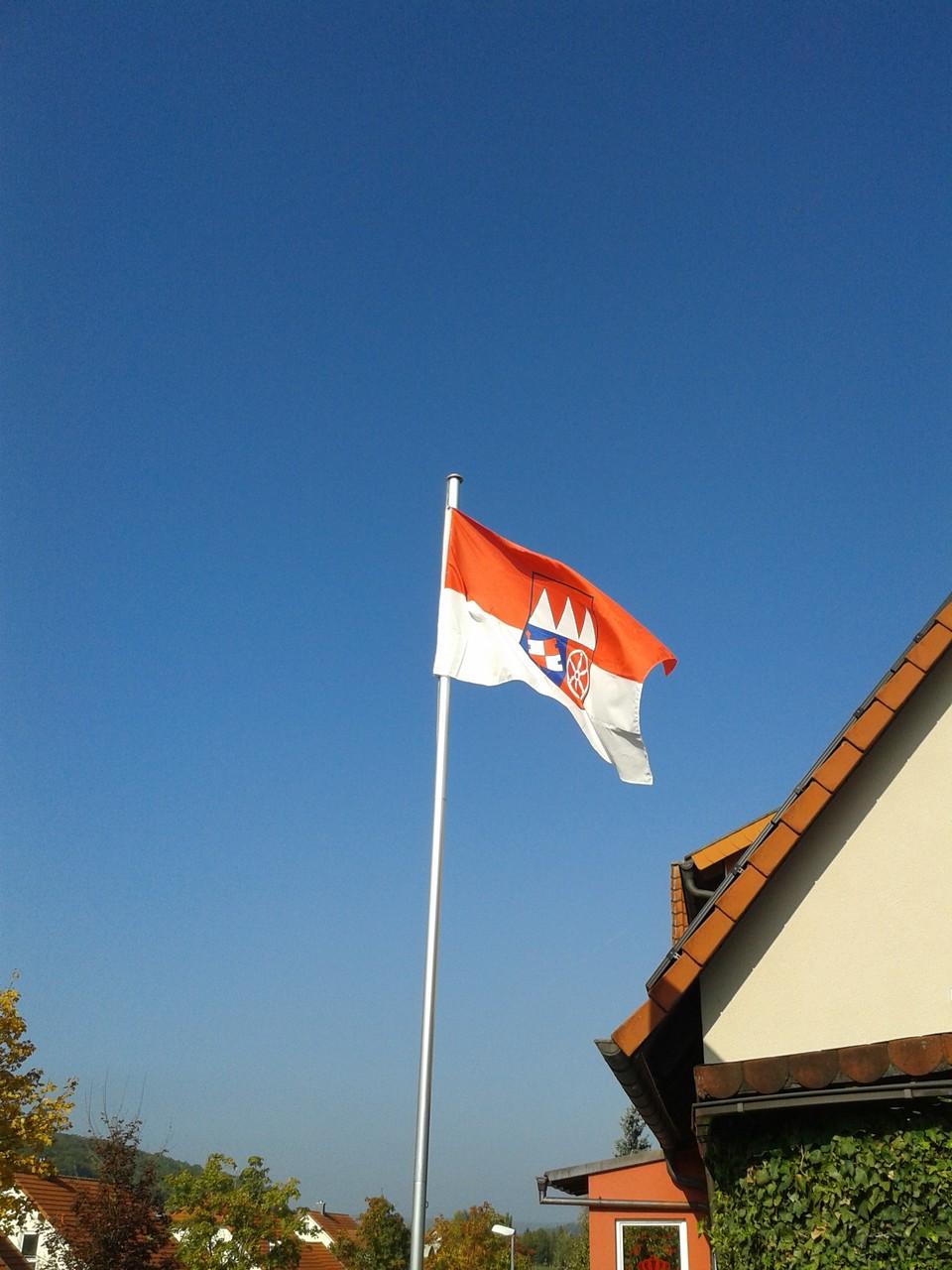 DieFlagge weht wir sind bereit                      Teil 1 Welpentreffen 2014