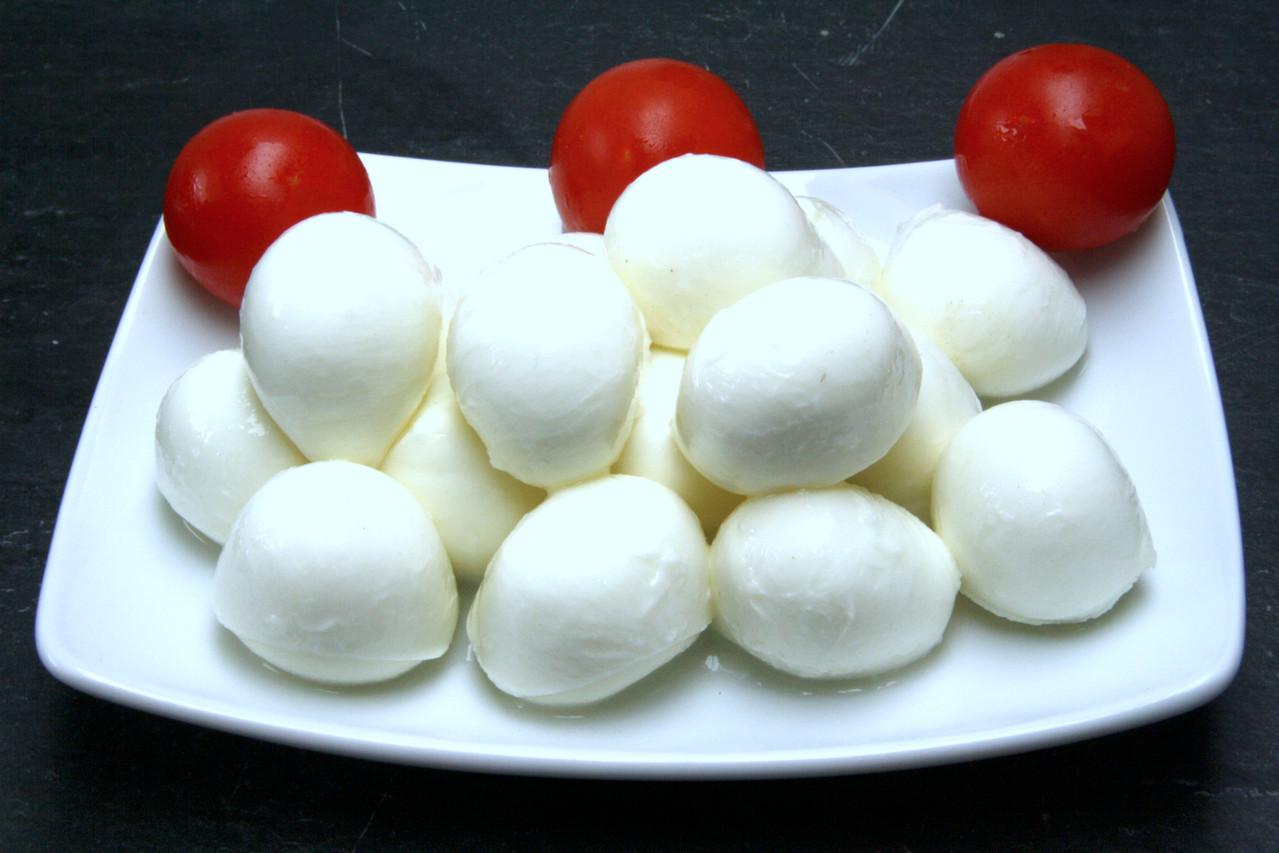 Mozzarella-Bällchen