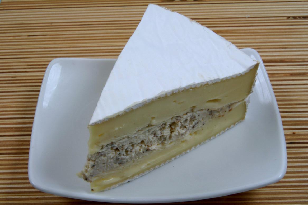 Duo-Brie mit Trüffeln