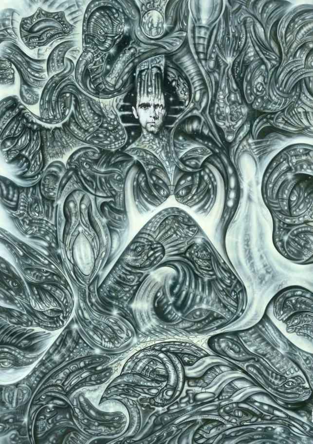 """Peter Gabriel"" Acrylic 2000"