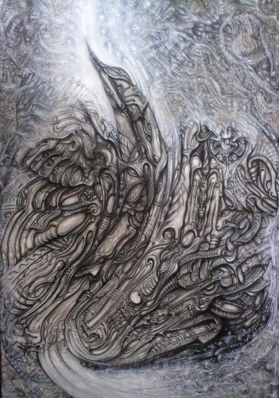 """""""Phönix"""" - Acrylic 2003"""