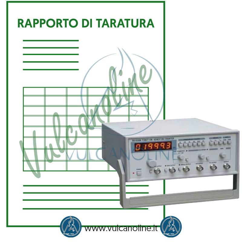 Taratura frequenzimetro