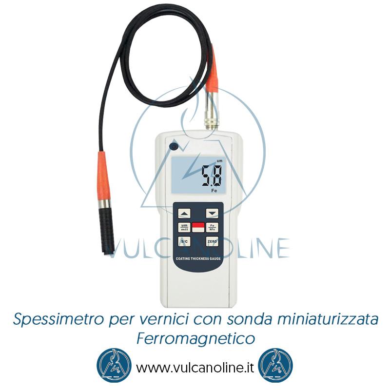 Spessimetro per vernici con sonda miniaturizzata