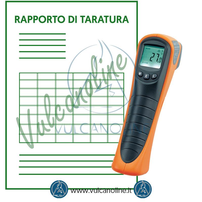 Taratura termometro ad infrarossi