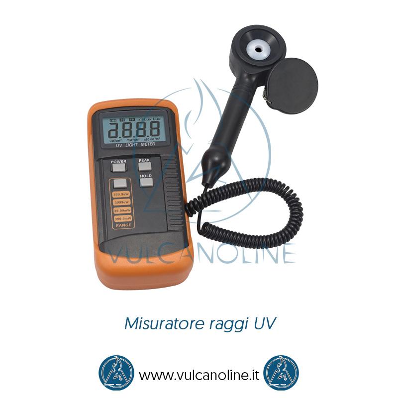 Taratura misuratore raggi UV