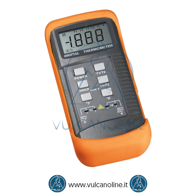 Termometro con sonde tipo K